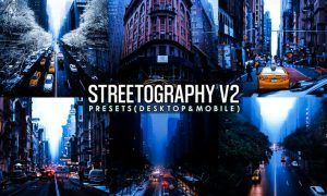 Streetographie V2 - Cinematic Lightroom Presets