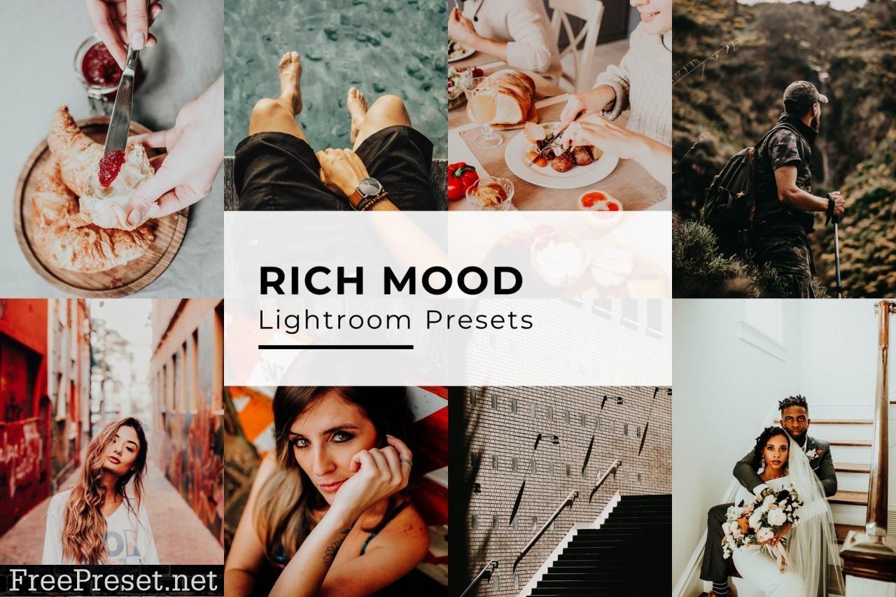 10 Rich Mood Lightroom Presets 5435093
