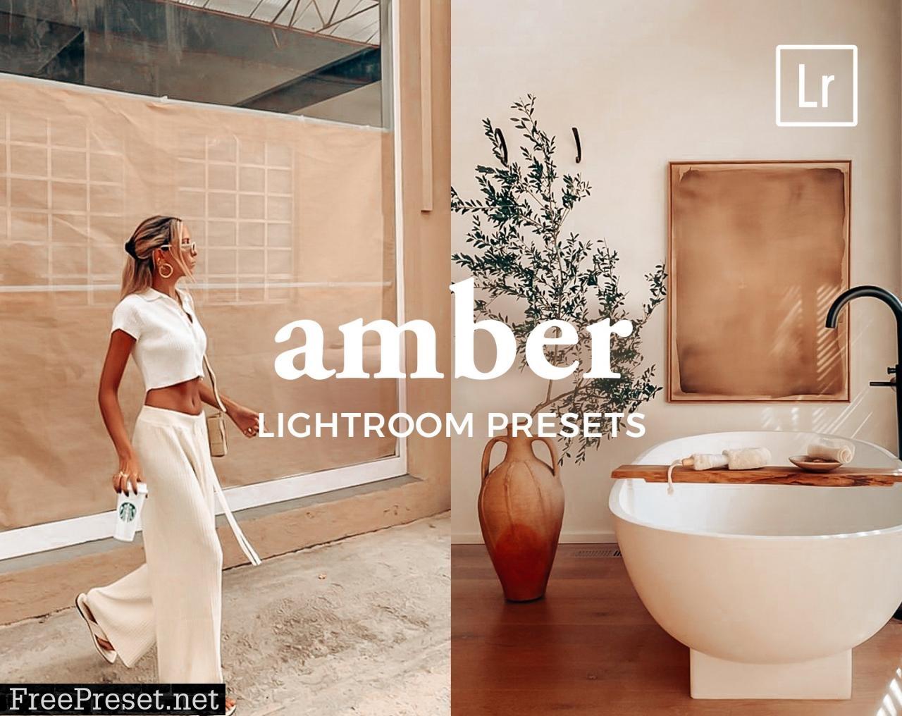 4 Lightroom Presets AMBER 5542921