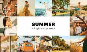 4 Summer Lightroom Presets 5627714