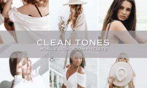 5 Clean Tones Lightroom Presets 5701167