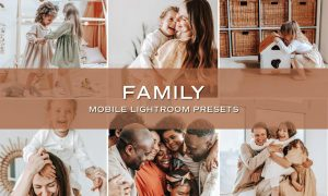 5 Family Lightroom Presets 5701423