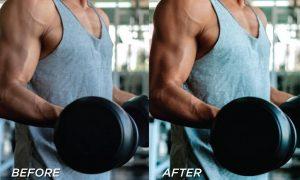 5 Fitness Lightroom Presets 5701237