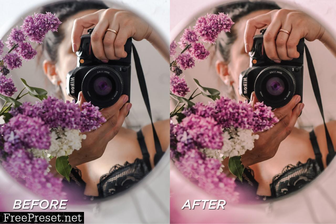 5 Rose Pink Lightroom Presets 5701373 5701373