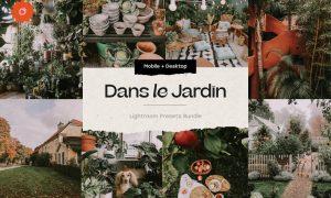 8 Jardin Lightroom Presets 5419247