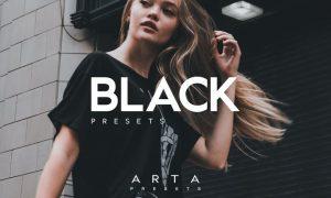 Arta Presets | Black | For Mobile and Desktop