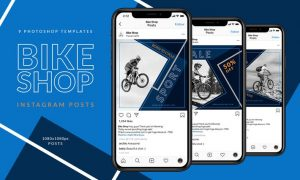 Bike Shop Instagram Posts K8LC7MP