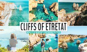 Cliffs of Etretat Mobile & Desktop Lightroom Prese