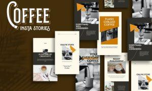 Coffee Instagram Stories Template 79UL232