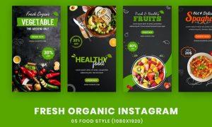 Fresh Organic Banner Instagram Post