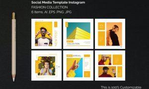 Instagram Square Templates Fashion Collection LF6878L