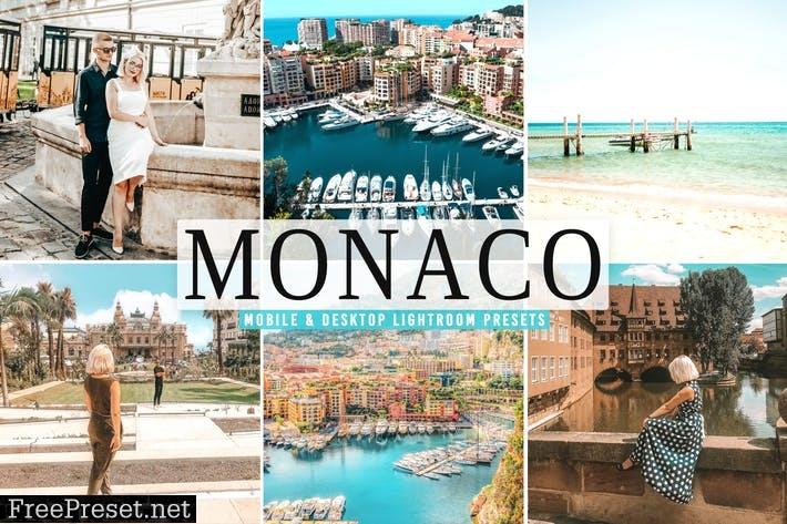 Monaco Mobile & Desktop Lightroom Presets