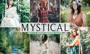 Mystical Mobile & Desktop Lightroom Presets