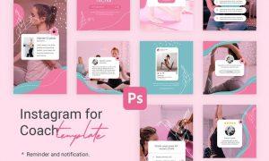 Notification Reminder Instagram Templates for Yoga 9L382N9