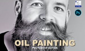 Oil Painting   Photoshop action NNZZ6Z6