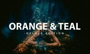 Orange & Teal| For Mobile & Desktop