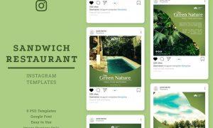 Resort Instagram Post Template ZTG635H