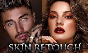 Skin Retouching Photoshop Action JYRGU36