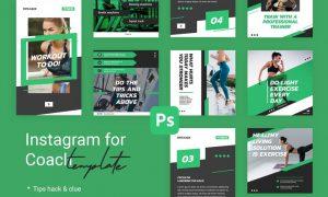 Tips & Tutorial Instagram Templates for Yoga v1 ECKJCLZ