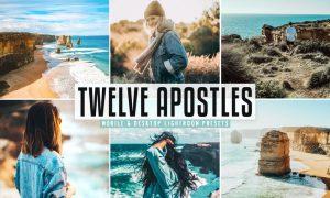 Twelve Apostles Mobile & Desktop Lightroom Presets