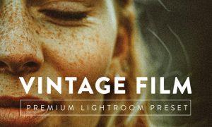 VINTAGE FILM Pro Lightroom Preset 5059743