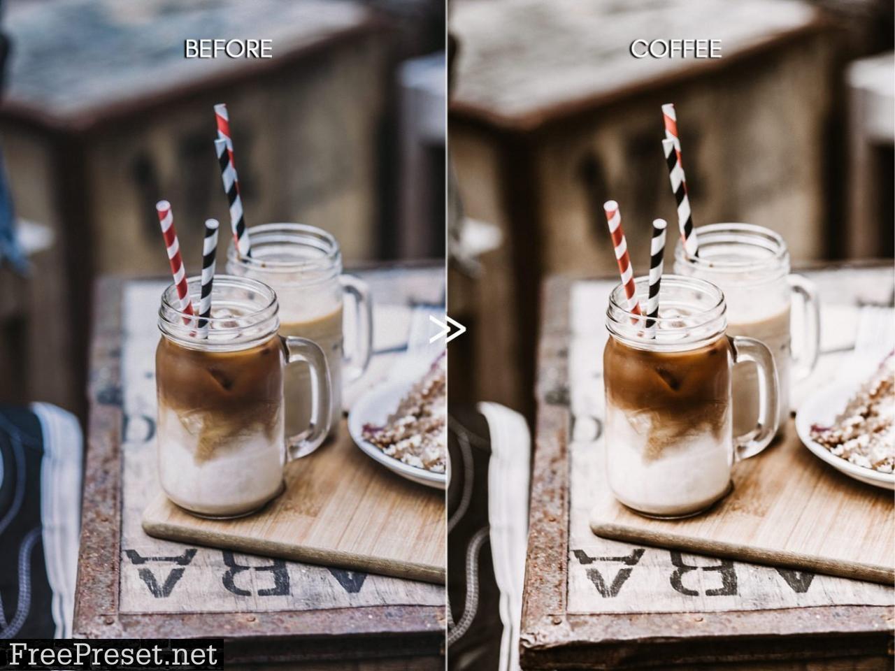 Warm COFFEE Modern Lightroom Presets 4806705