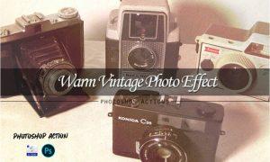 Warm vintage | PSD action LRRQGH3