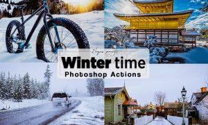 Winter Photoshop Actions LRVNVGF