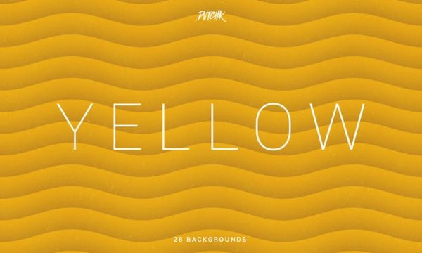 Yellow   Soft Abstract Wavy Backgrounds JHWN3ND