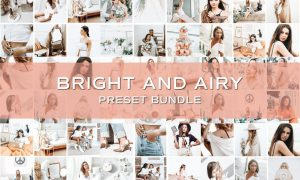 50 Bright Lightroom Preset Bundle 5701804