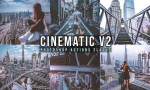 Cinematic Photoshop Actions BVZ7CWX