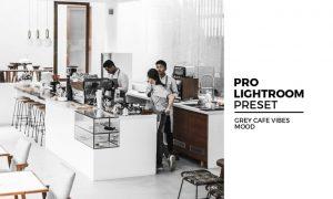 Grey Cafe Vibes Mood Preset
