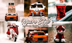 Macro Styles Lightroom Presets