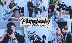 Photography Lightroom Presets Mobile and Desktop