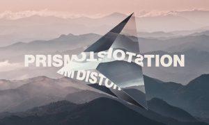 Prism Lens Distortion Photo Effect EZWAB63