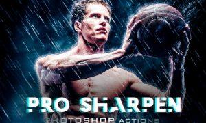 Sharpen Premium HDR Phototshop Acctions BZCDHRN