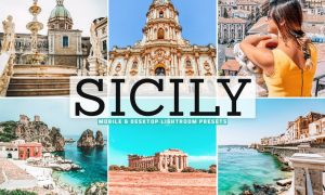 Sicily Mobile & Desktop Lightroom Presets