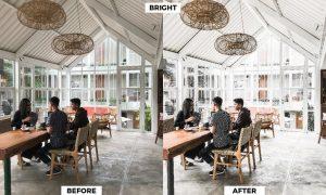 Tropical Coffee Shop Preset