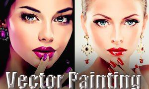 Vector Painting Photoshop Action JAYS9UN