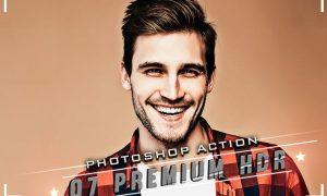 07 HDR Premium Photoshop Actions