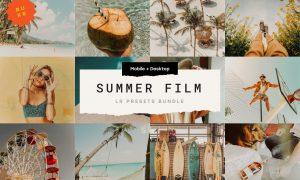 15 Summer Film Lr Presets Bundle 5035875
