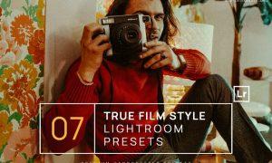 7 True Film Style Lightroom Presets + Mobile