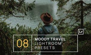 8 Moody Travel Lightroom Presets + Mobile
