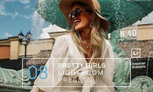 8 Pretty Girls Lightroom Presets + Mobile