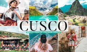 Cusco Mobile & Desktop Lightroom Presets