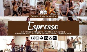 Espresso Presets, Photoshop actions 5689572