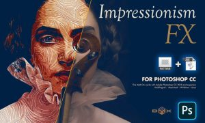 Impressionism Paint FX Photoshop Plugin SNF6Z4X