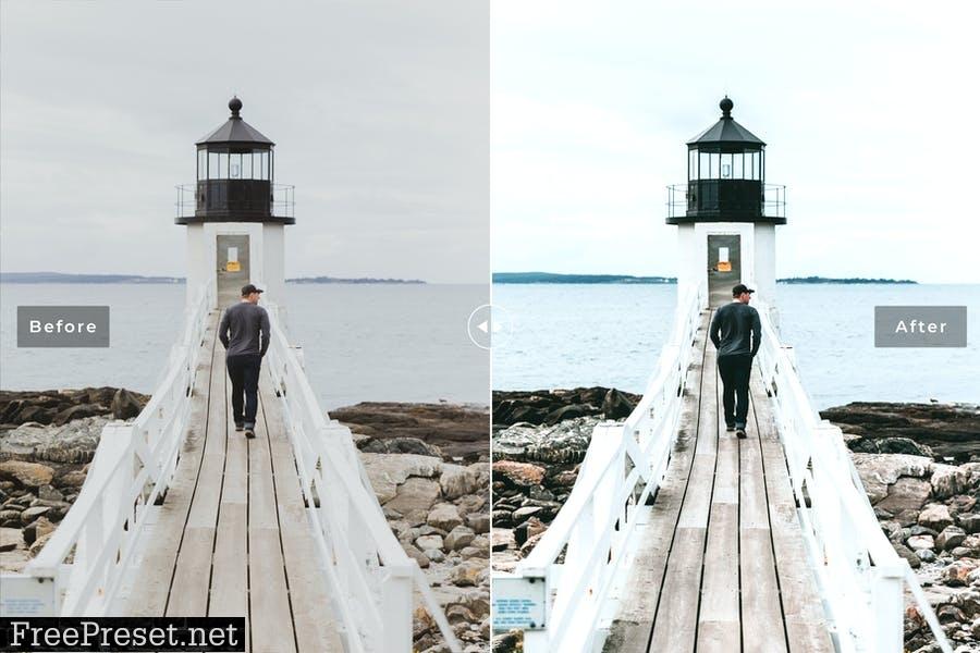Maine Mobile & Desktop Lightroom Presets