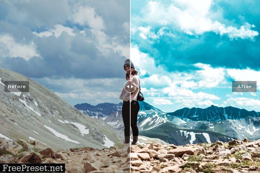 Matterhorn Mobile & Desktop Lightroom Presets