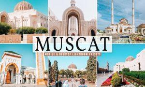 Muscat Mobile & Desktop Lightroom Presets
